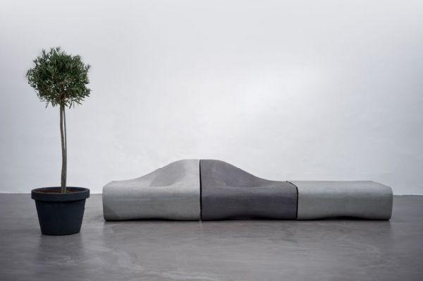 Мебель из цемента